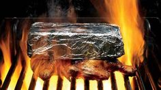 Grill Perfectly Moist Chicken Under a Brick