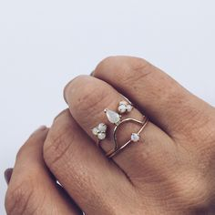 Opal Faye Ring - local eclectic - 10
