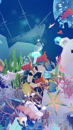 My Moon Jellyfish:)  #taptapfish Download: http://onelink.to/jhe4sh