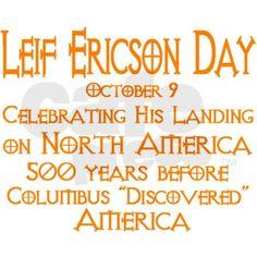 leif ericson dayt | Leif Ericson Day Rectangle Sticker by leifericsonday