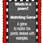 This activity compliments the two other poetry packets in my store. This game is used to practise recognising the different poetic devices through ...