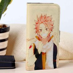 Fairy Tail Natsu | Anime | Movie | custom wallet case for iphone 4/4s 5 5s 5c 6 6plus case and samsung galaxy s3 s4 s5 s6 case - RSBLVD