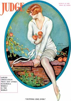 """Judge Cover ILL. """"Putting One Over"""", Aug 15 1925 by Ruth Eastman"""