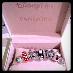 Minnie Mickey Pandora Disney Limited Edition Set Authentic Pandora Disney…