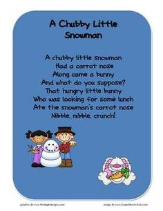 Here is a collection of several popular early childhood songs or finger-plays. (Get them all-in-one file!) This zip file contains 8 PDF files. The ...