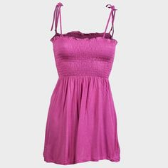 Sexy Pink Gypsy Maternity Summer Cami Lace up Strappy Top