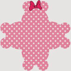 Divertidos Imprimibles Gratis de Minnie Mouse Rosa.