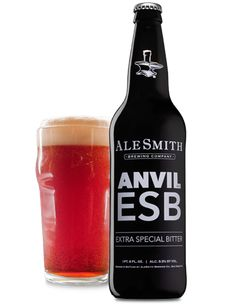 Anvil ESB is our interpretation of a traditional British-style pub ale. Deep amber in color, a toasty character from British malts and a touch of kettle caramelization blend seamlessly with a mild English hop profile. Its delicate balance of flavors will keep you coming back pint after pint, making it a complex creation we're proud to call our flagship beer.