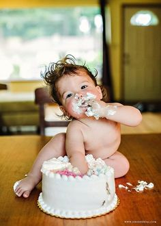 Now, that's how to eat cake :-)