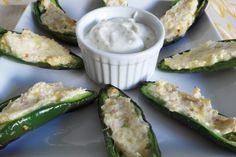 Jalapeño poppers from U Weight Loss awesome with or without the tomatoes