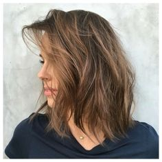 Ideas Mousey Brown Hair Balayage Highlights For 2020 Brown Ombre Hair, Brown Blonde Hair, Ombre Hair Color, Brunette Hair, Short Light Brown Hair, Light Brown Hair Colors, Light Brown Bob, Brown Colors, Emily Browning