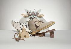 Shotopop is an idea driven content creation studio, focusing on Design, Illustration & Animation. Clarks Originals, The Originals, Paper Cutting, Illustration, Paper Art, Interior Decorating, Animation, Artist, Set Design