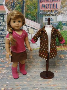 Bobby Jack Girl skirt and jacket ensemble for by cupcakecutiepie, $60.00