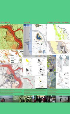 Water Urbanism in Hanoi: Red River + Lakes studio