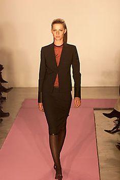 DKNY Fall 2000 Ready-to-Wear Fashion Show - Gisele Bündchen, Donna Karan