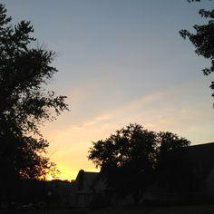 Sunset in Omaha