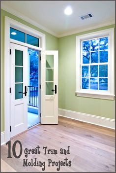 Get some fresh ideas on how to beautify your home with these relatively simple trim and molding projects: Installing crown molding is a fairly inexpensive and easy way to add elegance and ch...