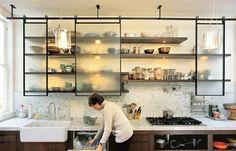 sliding kitchen cabinet goodness