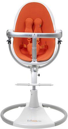 Bloom Fresco High Chair - Harvest Orange