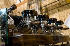 La Marzocco GS/2 at Intelligentsia Venice. Dreaming of bigger and better things