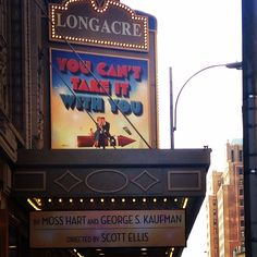 You Can't Take it With You at the Longacre Theatre on Broadway (Sep 28, 2014 - Feb 22, 2015)