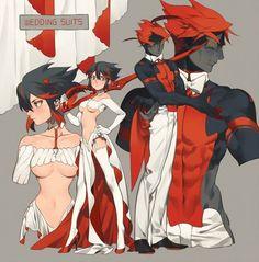 Kill La Kill // Ryuko Matoi, Senketsu - COSPLAY IS BAEEE! Tap the pin now to grab yourself some BAE Cosplay leggings and shirts! From super hero fitness leggings, super hero fitness shirts, and so much more that wil make you say YASSS! Female Characters, Anime Characters, Manga Anime, Anime Art, Character Art, Character Design, Comics Anime, Accel World, Estilo Anime