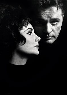 """Elizabeth Taylor and Richard Burton         by John Engstead  Elizabeth: """"I love Richard Burton with every fiber of my soul but we can't be together."""""""