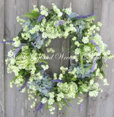 Spring Wreath, Easter, Spring Floral, Country French, Designer, Elegant Spring, Garden Wreath on Etsy, $199.00