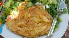 Tortilla [ομελέτα] Ισπανική Φανταστική γεύση !!! ~ ΜΑΓΕΙΡΙΚΗ ΚΑΙ ΣΥΝΤΑΓΕΣ Cookbook Recipes, Cooking Recipes, Pork, Food And Drink, Turkey, Eggs, Chicken, Meat, Style