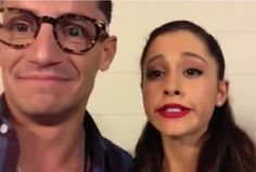 omg ariana and frankie<3