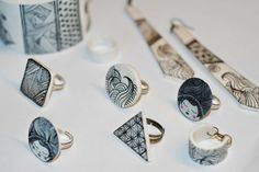 Tambouille et bagatelle: Une palette de bijoux graphiques
