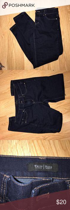White House Black Market jeans NWOT White House Black Market jeans! Never been worn before, too short on me White House Black Market Jeans Skinny
