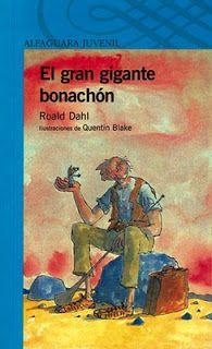 Semana de Roald Dahl. El Gran Gigante Bonachón.