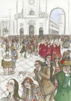 """""""The School Choir Trip,"""" by Sue Macartney-Snape"""