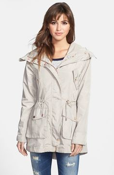 Steve Madden Fly Front Anorak available at #Nordstrom