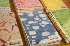 Hand Stitched Notebooks Catherine McGinniss Japanese Stab Binding, Moleskine Notebook, Handmade Journals, Pick Me Up, Bookbinding, Hand Stitching, Notebooks, Paper, Crafts