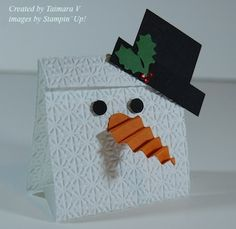 Taimara Snowman Candy holder