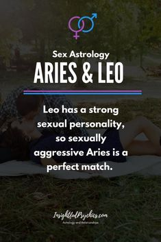 Aries and Leo – Compatibility in Sex, Love and Friendship Relationship Goals leo and leo relationship Aries Zodiac Facts, Leo Horoscope, Zodiac Signs Leo, Astrology Leo, Aries Leo Compatibility, Zodiac Traits, Leo And Scorpio, Aries Love, Leo Love