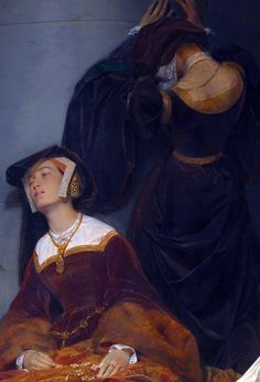 The Execution of Lady Jane Grey (detail), Paul Delaroche, 1833.