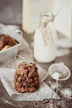 Rustic Food Photography, Food Photography Props, Amazing Food Photography, Chocolate Chip Cookies, Milk Cookies, Food Flatlay, My Best Recipe, Aesthetic Food, Food Inspiration