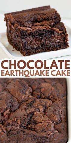 Decadent Chocolate Cake, Chocolate Cake Mixes, Chocolate Desserts, Chocolate Cream, Chocolate Heaven, Mini Desserts, Just Desserts, Delicious Desserts, Oreo Dessert