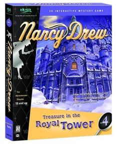 Nancy Drew: Treasure In The Royal Tower - Become the detective Nancy Drew as you are trapped in a creepy castle that holds many secrets only solved by working your way through mysterious rooms and discovering the secrets that are within the many hidden rooms and corridors.