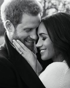 "18.2k Likes, 112 Comments - Glamour Magazine (@glamourmag) on Instagram: ""#PrinceHarry and #MeghanMarkle's official engagement photos are here, and we can't stop…"""