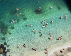 Beach Goers print