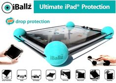 iBallz Original Universal Case for iPad Galaxy Surface and Tablets Ipad 1, Ipad Tablet, Ipad Case, Presents For Men, Gifts For Her, Iphone Gadgets, Off Game, Gadgets And Gizmos
