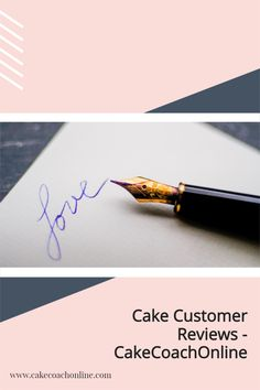 Getting positive reviews from customers is essential. But then how do you go about displaying these - do that potential customers can view them? Read our blog to find out more.... Why not pin this to your Cake Business Idea board too?