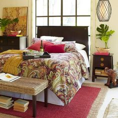 A Few Asian Inspired Pieces From Pier 1 Can Make You Feel Like Youu0027re  Traveling Without Leaving The Bedroom.