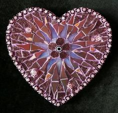 Mosaic heart by Ruth Ames-White