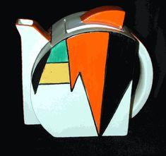 #Clarice Cliff Teapot
