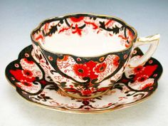 wileman teacup set - 1899